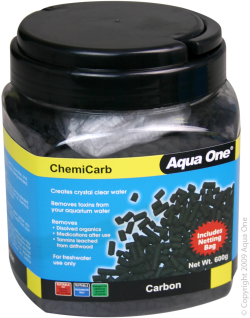 Aqua One ChemiCarb Carbon 600g|