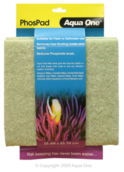 Aqua One Phos Pad (Self Cut)|