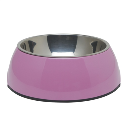 Dogit 2-in-1 Dog Dish Pink 160mL|