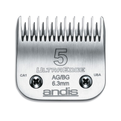 Andis Clipper Blade #5 Leaves Hair 6.3mm|