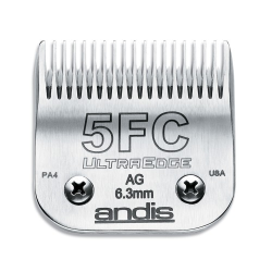 Andis Clipper Blade #5FC Leaves Hair 6.3mm|