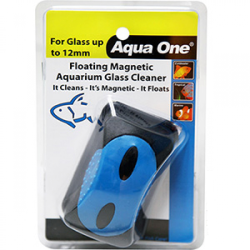 Aqua One Floating Magnet Cleaner Large For Up To 12mm Glass