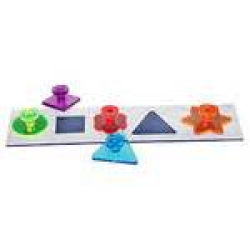 Bell Plastics Shapes Puzzle Acrylic Bird Toy|