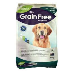 BIOpet Grain Free Fish & Potato Adult Dog Food 12kg|