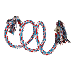 Birdie Jumbo Rope Spiral with Bell|