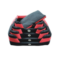 Bono Fido Stay Dry Basket Large RED/BLACK|