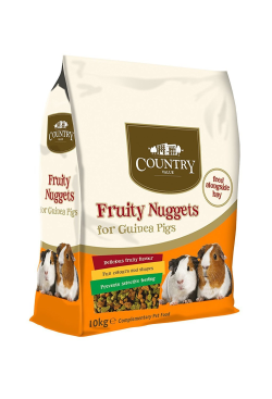 Burgess Country Value Fruity Nuggets for Guinea Pigs 1.5kg|