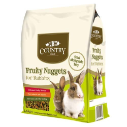 Burgess Country Value Fruity Nuggets for Rabbits 1.5kg|