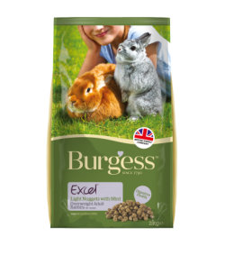 Burgess Excel Light Rabbit Pellets for Overweight Rabbits 2kg|