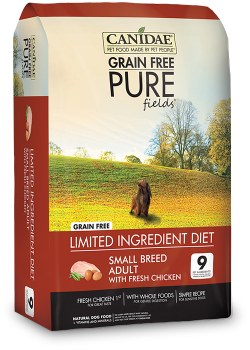 Canidae DOG Grain Free Pure Fields for Small Breed Dogs 1.8kg|