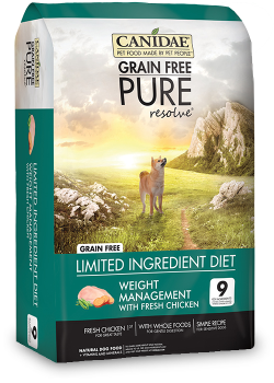 Canidae DOG Grain Free Pure Resolve Weight Management 1.8kg|