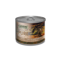 Canidae for Cats Grain Free Pure Elements Wet Can 156g x 12 (Case)|