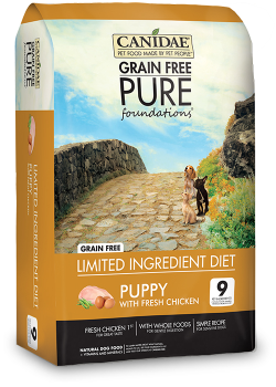 Canidae Grain Free Pure Foundations PUPPY Formula 1.8kg|