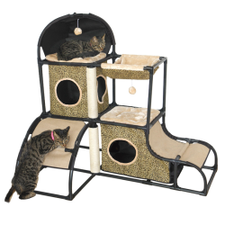 Dreamcloud Cat Penthouse Leopard Print|