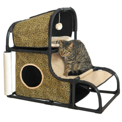 Dreamcloud Cat Hideaway Leopard Print|