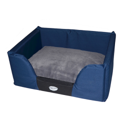 Dreamcloud Bolster Bed Medium Blue|