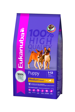 Eukanuba Puppy Medium Breed 15kg|