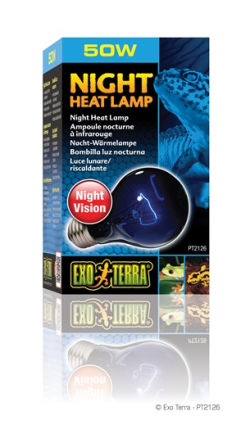 Exo Terra Night Heat Lamp 50W|