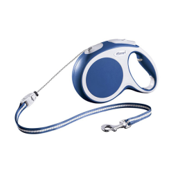 Flexi Vario Retractable Cord Lead Blue Medium 5m|