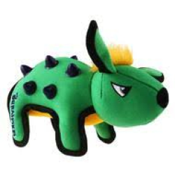 GiGwi Duraspikes Durable Rabbit Green|