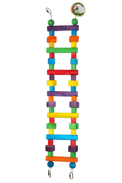 Green Parrot Toy BIG BLOCK LADDER|