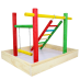 Green Parrot Bird PlayGround|