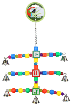 Green Parrot Toy PLAYTIME|