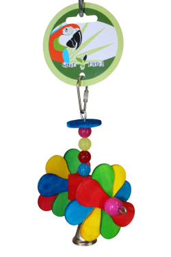 Green Parrot Toy GYROCOPTER|