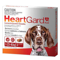 Heartgard Dogs 23-45kg Large Dogs 6 Pack|