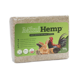 HempFlax Mini Hemp Small Animal Bedding 100L|
