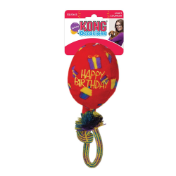 Kong Occasions Birthday Balloon Red Medium|