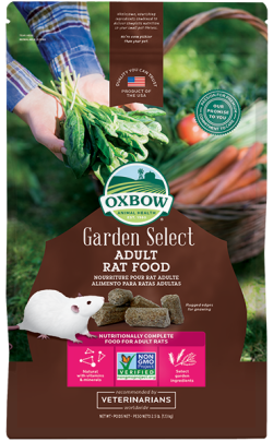 Oxbow Garden Select Adult Rat Food 1.13kg|
