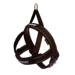 Ezy Dog Quick Fit Harness Black Large|