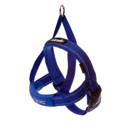 Ezy Dog Quick Fit Harness Blue Small|