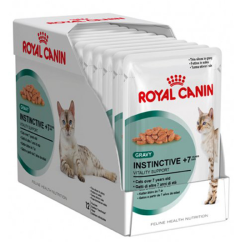 Royal Canin Instinctive 7+ in Gravy Box 12 x 85g|