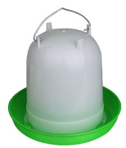 Poultry Waterer - Crown G&W Straight 8 Litre|