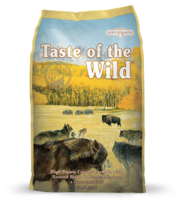 Taste of the Wild High Prairie Adult Dog Formula with Roasted Bison & Roasted Venison 13kg|