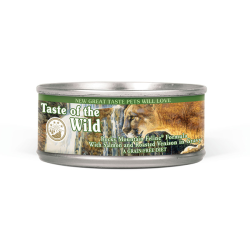 Taste of the Wild Rocky Mountain CAT Formula with Roasted Venison & Smoked Salmon CAN 156g|