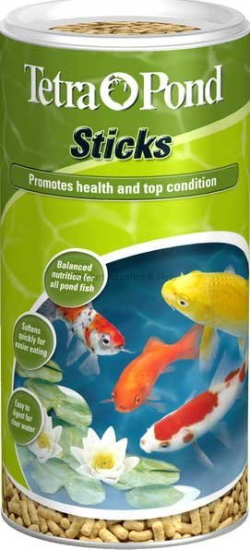 TetraPond Floating Food Sticks 100g|