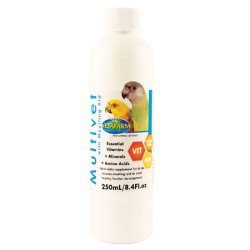 Vetafarm Multivet with Moulting Aid 250mL|