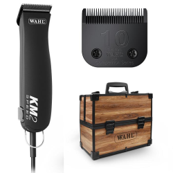 Wahl KM2 Two Speed Rotary Motor Pet Clipper with Bonus Free Case|
