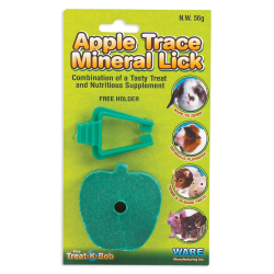 Ware Critter Apple Trace Mineral Lick 56g|