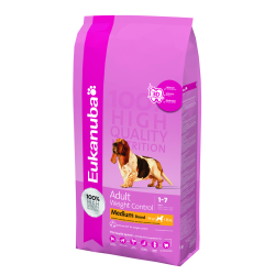 Eukanuba Weight Control Medium Breed 15kg|