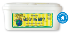 Earthbath Hypo Allergenic Grooming Wipes 100pk|