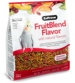 ZuPreem FruitBlend Medium Birds 900g|