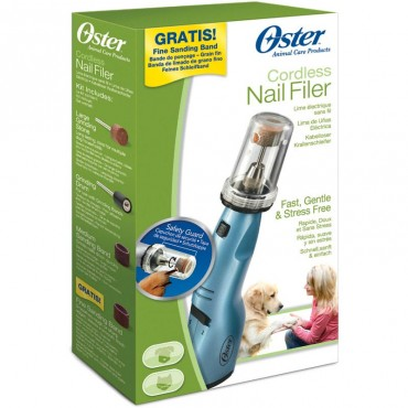 Oster Cordless Pet Nail Filer