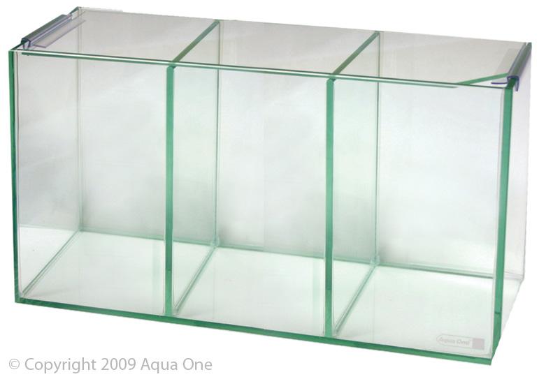 Pet Shop Direct - Aqua One Betta Trio Glass Tank