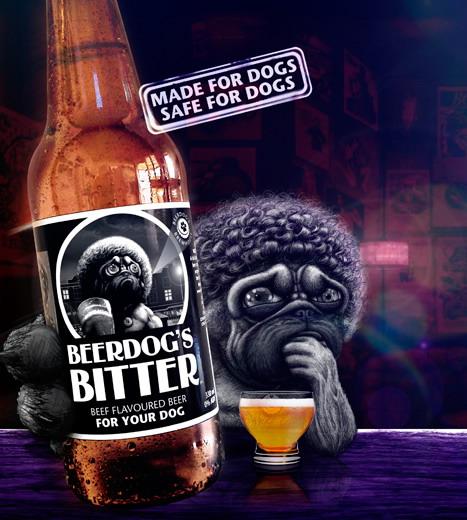 Beerdog S Bitter Beef Flavoured Dog Beer 330ml