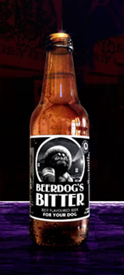 Beerdog S Bitter Beef Flavoured Dog Beer 330ml