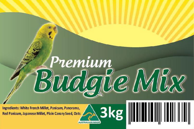 Pet Shop Direct Premium Bird Seed Budgie Mix 3kg